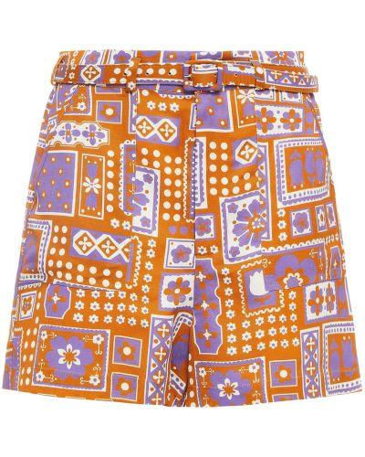 Lniane szorty Antik Batik