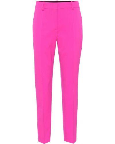 Укороченные брюки розовый стрейч Emilio Pucci