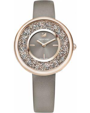 Часы швейцарские с кристаллами сваровски Swarovski