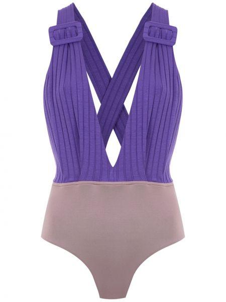 Фиолетовое боди Framed