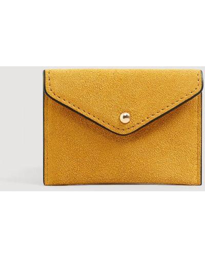 Желтый кошелек Mango