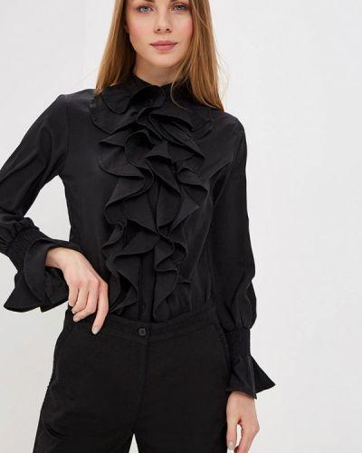 Блузка черная Almatrichi