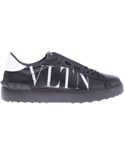 Кроссовки с логотипом с узором Valentino