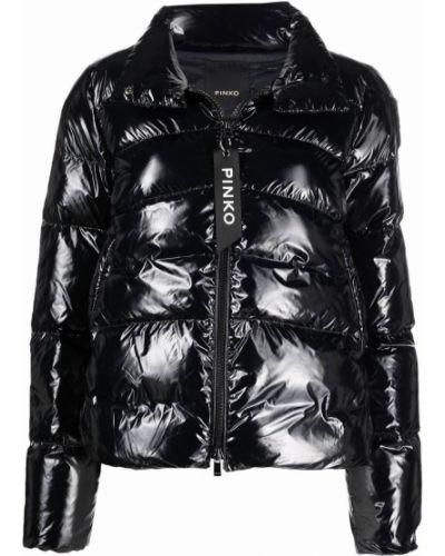 Стеганая куртка - черная Pinko