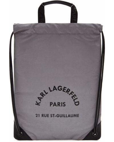 Рюкзак рюкзак-мешок на молнии Karl Lagerfeld