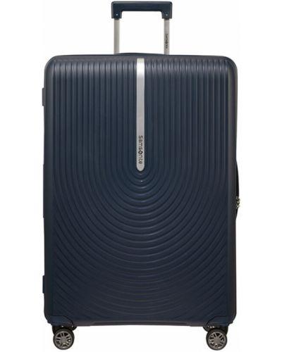Niebieska walizka Samsonite