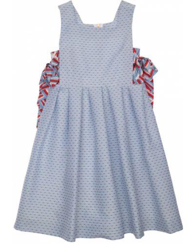Платье без рукавов с бантом с подкладкой Mi.mi.sol.