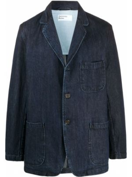 Деловой прямой классический пиджак на пуговицах с карманами Universal Works