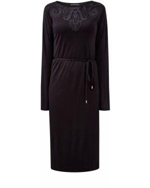 Платье с поясом с вышивкой из вискозы Etro