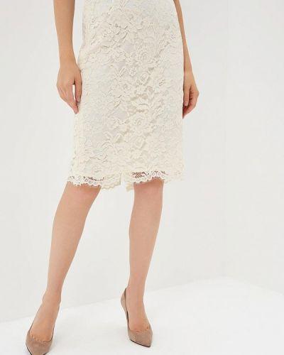 Белая юбка осенняя Madeleine