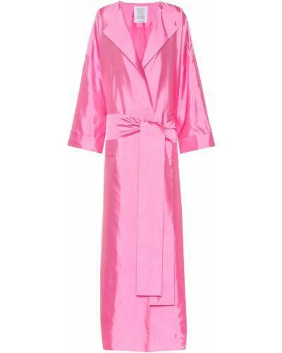Розовое пальто Rosie Assoulin