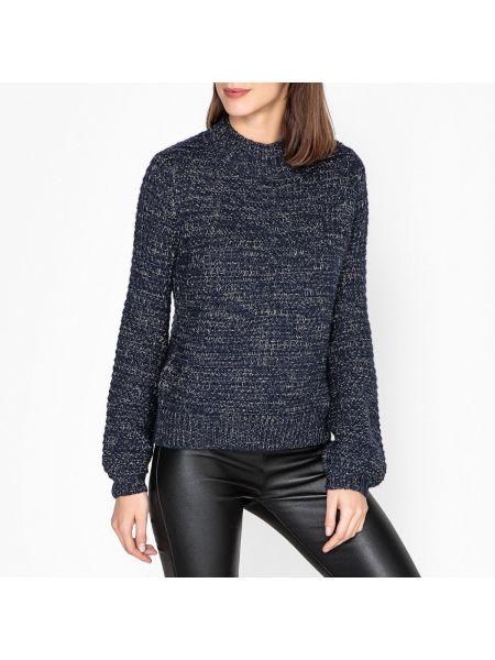 Пуловер на пуговицах с воротником-стойкой Leon & Harper