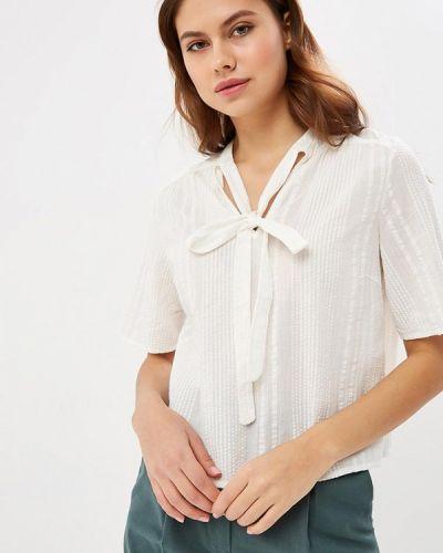Блузка с коротким рукавом белая индийский Vila