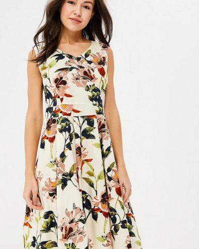 Платье весеннее бежевое Sweet Miss