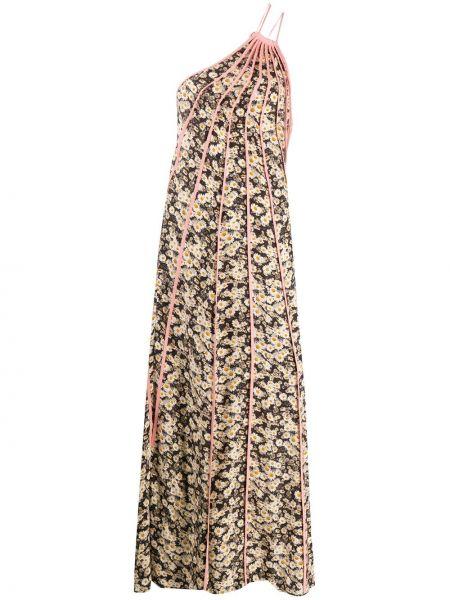 Платье макси - черное Stella Mccartney