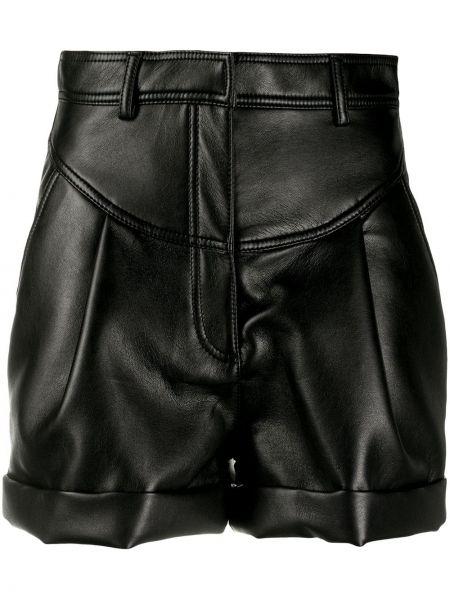 Черные короткие шорты с карманами Philosophy Di Lorenzo Serafini