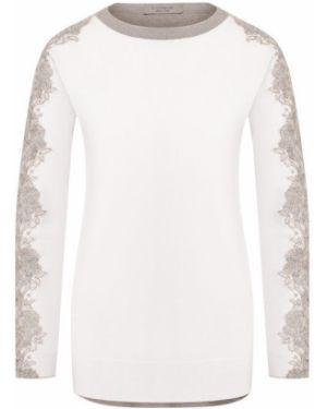 Кашемировый пуловер - бежевый D.exterior