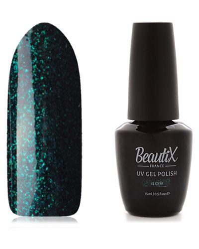 Гель-лак для ногтей темный Beautix