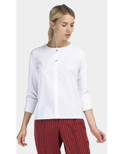 Белая блузка с длинным рукавом Grass