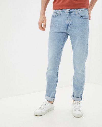 Голубые зимние зауженные джинсы Levi's®  Made & Crafted™