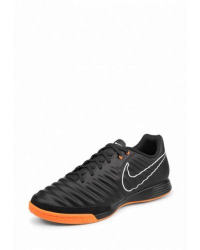 Бутсы черные Nike