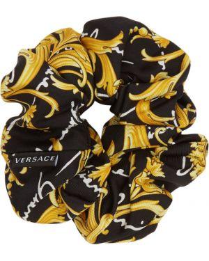 Opaska na głowę biały czarny Versace