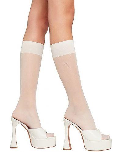 Белые деловые носки Wolford