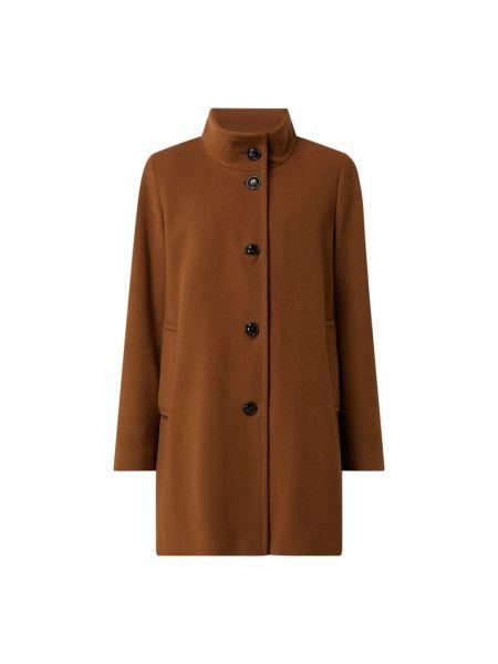 Płaszcz wełniany - brązowy Fuchs Schmitt