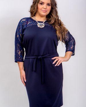 Вечернее платье с поясом платье-сарафан Belirini