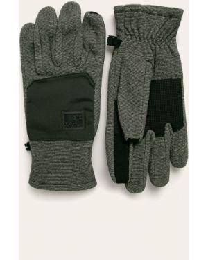Zielone ciepłe rękawiczki z nylonu Under Armour