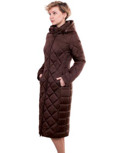 Зимнее пальто с капюшоном на молнии J-splash