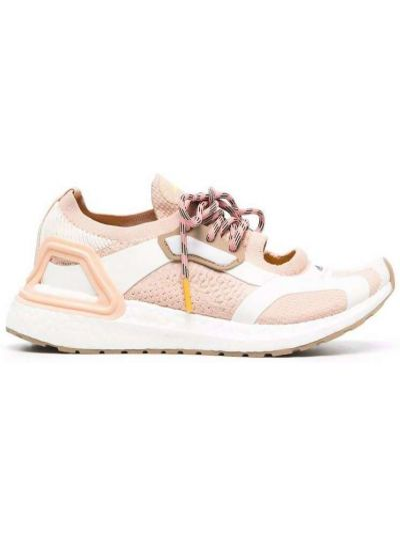 Różowe sneakersy Adidas By Stella Mccartney