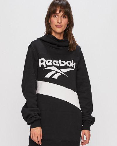 Трикотажное платье - черное Reebok Classic