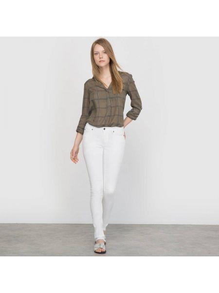 Белые джинсы-скинни Cheap Monday