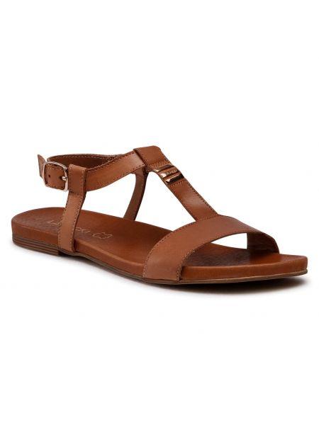Brązowe sandały Lasocki