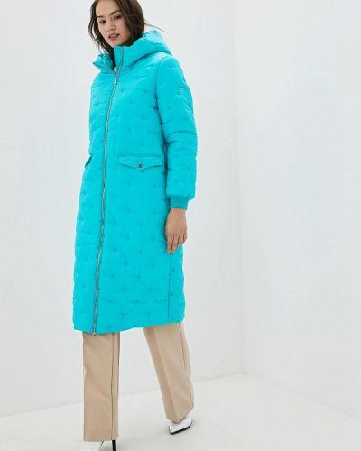 Бирюзовая теплая куртка Baon