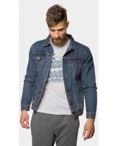 Джинсовая куртка синяя Mr520
