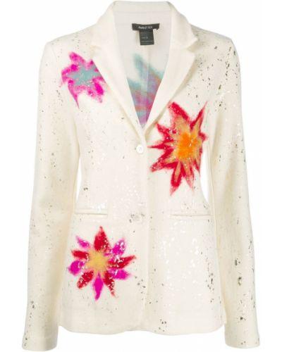 Пиджак с карманами айвори Avant Toi