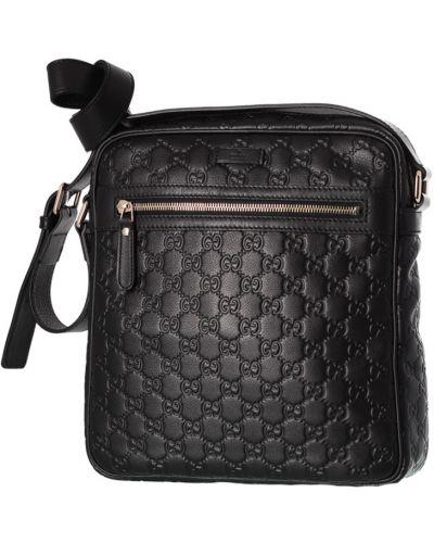 Кожаная сумка черная Gucci