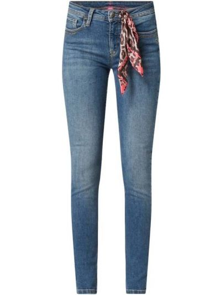 Mom jeans bawełniane - niebieskie Lieblingsstück