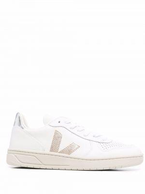 Кожаные кроссовки - белые Veja