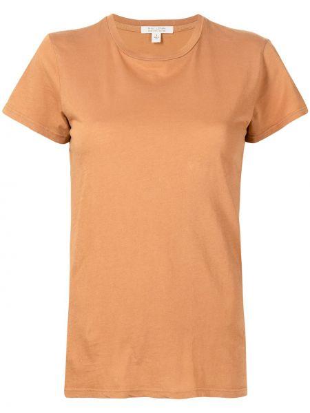 Базовая футболка - коричневая Nili Lotan