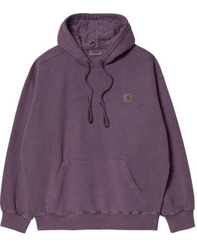 Bluza - fioletowa Carhartt Wip