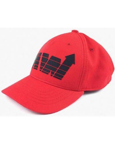 Красная бейсболка Headway