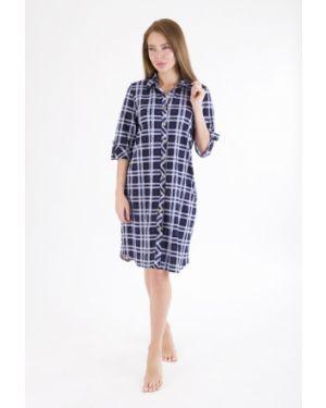 Повседневное платье на пуговицах с воротником с карманами свободного кроя Lika Dress