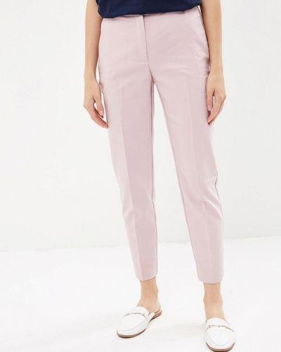 Розовые брюки с завышенной талией Zarina