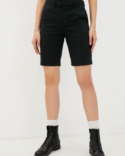 Повседневные черные шорты Gap