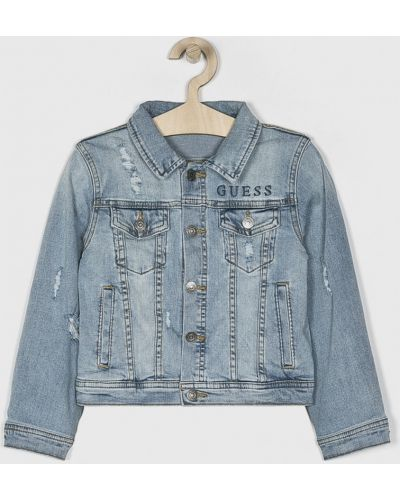 Джинсы на пуговицах синий Guess Jeans