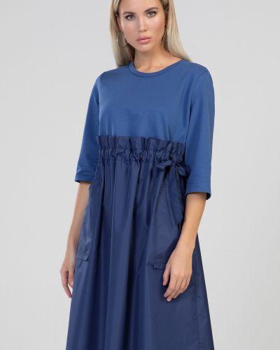 Повседневное платье миди прима линия