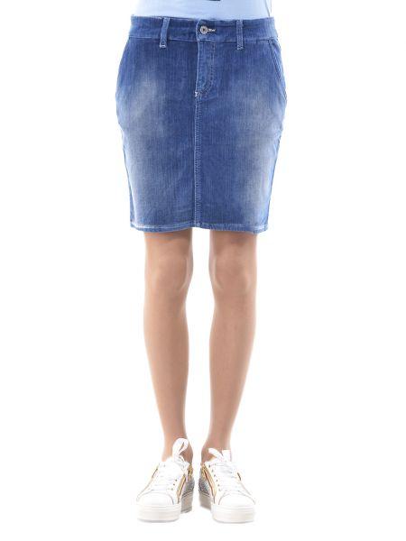 Хлопковая юбка Blugirl